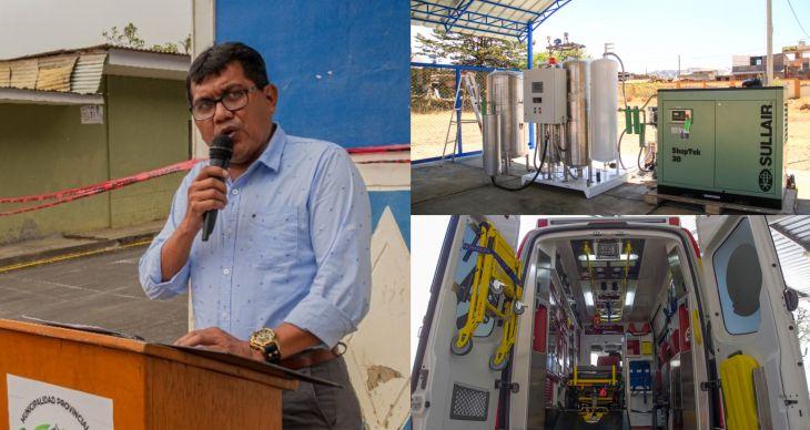 Alcalde de la provincia de Lamas, informó que con el plan de incentivos que otorga el MEF, adquirirán una planta de oxígeno medicinal