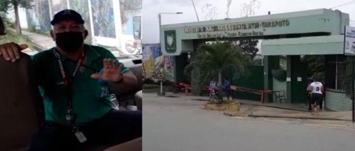 Trabajadores de la UNSM exigen a las autoridades universitarias la suspensión de labores por 15 días