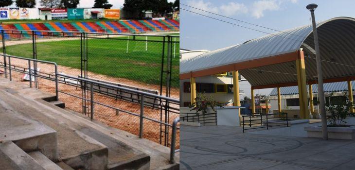 Mesas de votación que iban a funcionar en estadio municipal de Tarapoto, son reasignadas a la I.E. Jiménez Pimentel