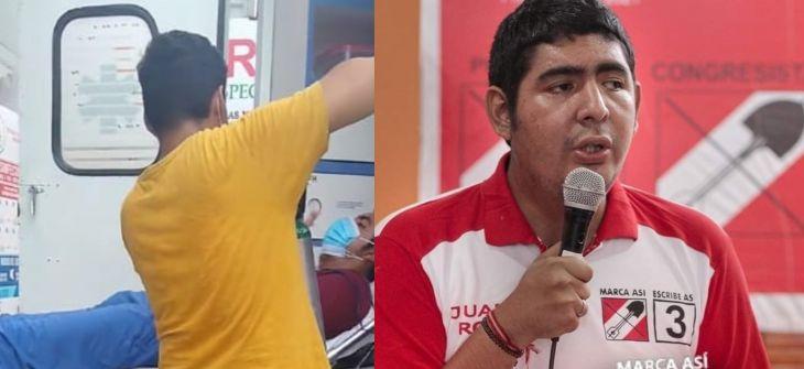 Juan José Rocha, excandidato de Acción Popular, lucha contra el Covid-19