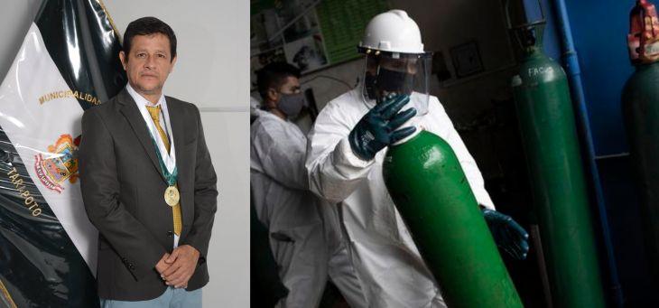 Regidor Leonardo Hidalgo propondrá para que la MPSM proporcione oxígeno medicinal a las personas que llevan tratamiento del COVID 19 en sus domicilios