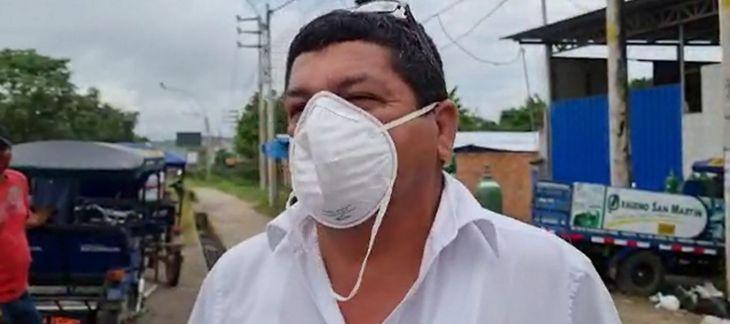 Oxígeno: Centro de salud de Chazuta espera recarga de balones desde el sábado en planta privada para atender pacientes Covid