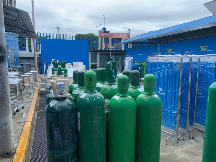 El 26 de mayo y 5 de junio llegarán las plantas de oxígeno medicinal para el Hospital de EsSalud de Tarapoto