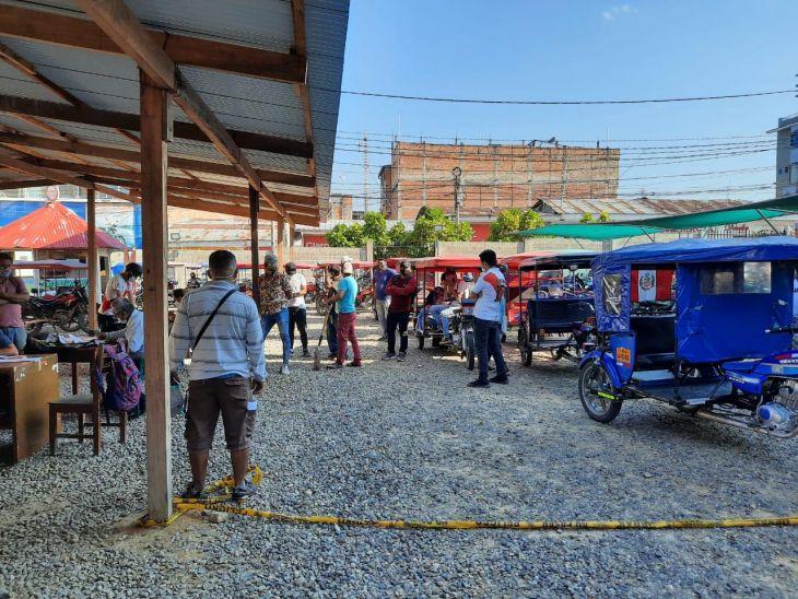 Tarapoto: En el primer día de operativo contra mototaxis y motos lineales que ocasionan ruidos molestos, decenas de trimóviles fueron retenidos en la cochera municipal