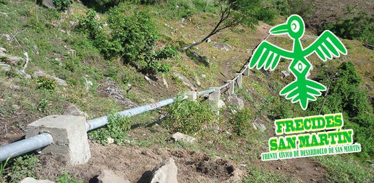 FRECIDES San Martín, solicita al Gobernador Regional información y precisiones sobre el avance y/o situación del 'megaproyecto de agua potable