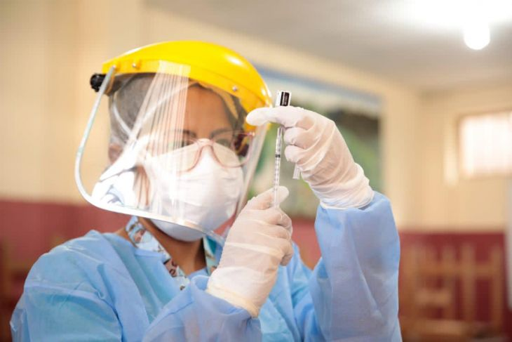 Cerca de 60% de personas mayores de 70 años fueron vacunados durante la jornada de vacunación en la región San Martín