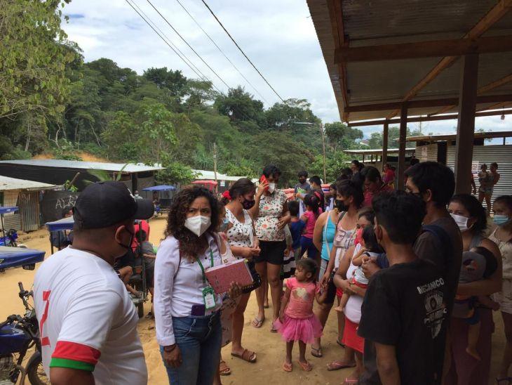 Niños en abandono cuyos padres están internados en penal de Sananguillo por invadir terreno serán atendidos por la MPSM