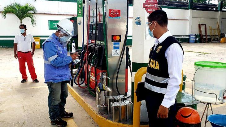 Fiscalía de Prevención del Delito de San Martín Tarapoto realizó acciones preventivas en estaciones de servicio de Tarapoto
