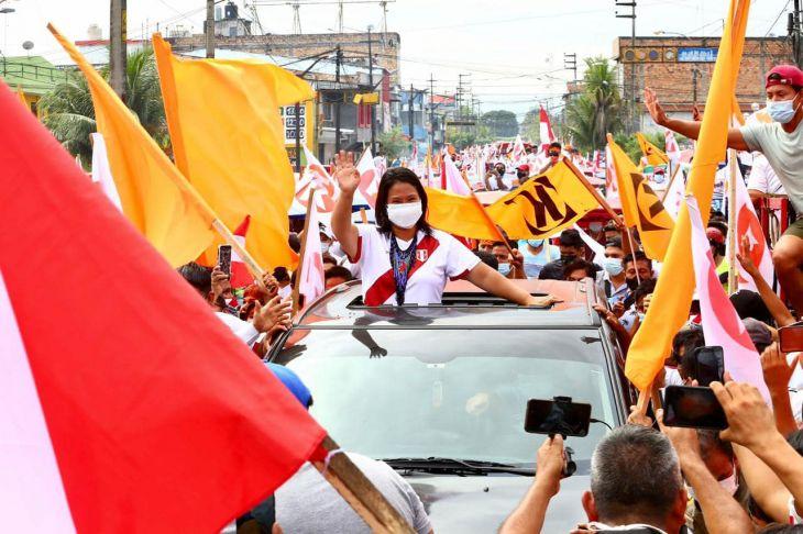 Hoy continuará gira proselitista en San Martín de la candidata de Fuerza Popular, Keiko Fujimori