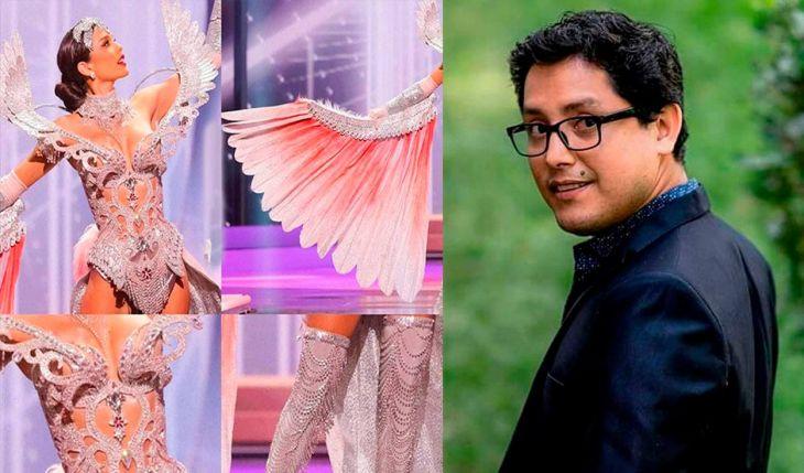 Diario Amanecer: Miss Perú Universo 2021 deslumbró con traje diseñado por Beto Pinedo