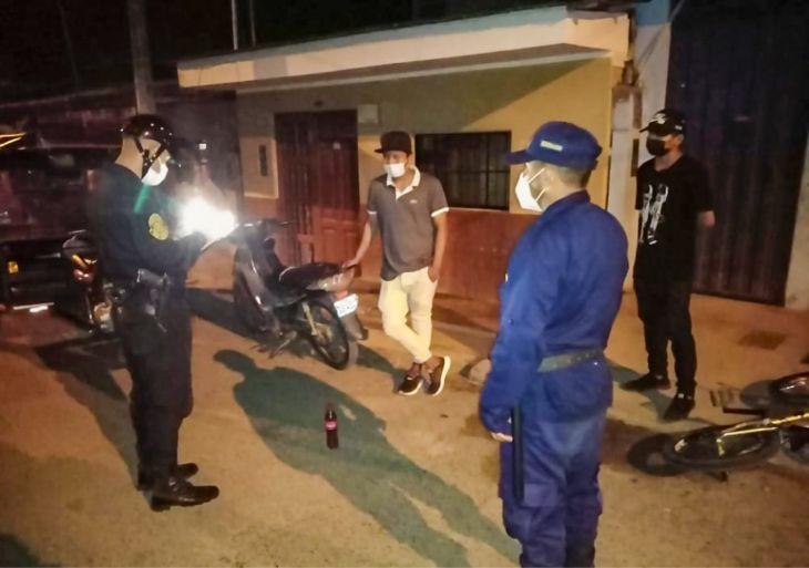 63 personas fueron multadas ayer en operativos en La Banda de Shilcayo y Morales