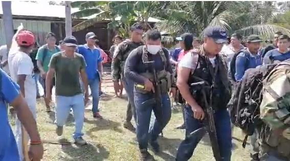 Hasta el momento el Comando de la XI Macro Región Policial no se pronuncia sobre los hechos ocurridos el último domingo en el distrito de Huimbayoc