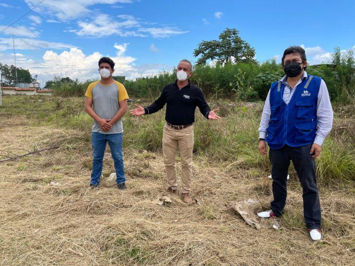 Para construir hospital móvil para 100 camas, EsSalud Tarapoto plantea al municipio terreno en sesión de uso