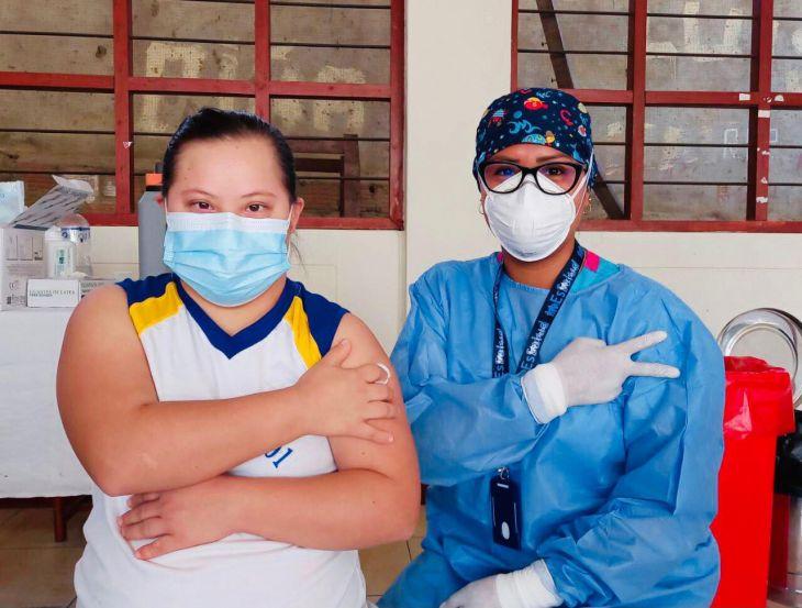En el primer día de jornada de vacunación contra la Covid 19 se superó meta programada en distritos priorizados de la región San Martín