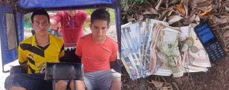 Pobladores de Tingo de Ponaza lograron la captura de dos presuntos asaltantes
