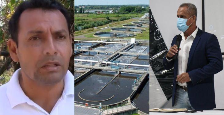 Alcalde del distrito de Cacatachi pide alcalde provincial de San Martín, que su distrito sea parte del proyecto de la planta de tratamiento de aguas residuales