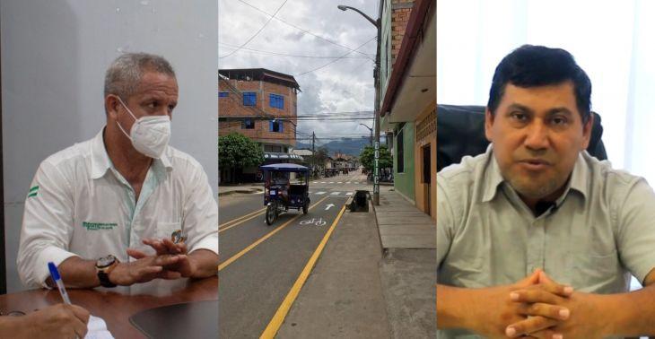 Alcalde del distrito de Morales, cuestionó a la MPSM por no convocar a su equipo técnico para participar en el proyecto de Ciclovía