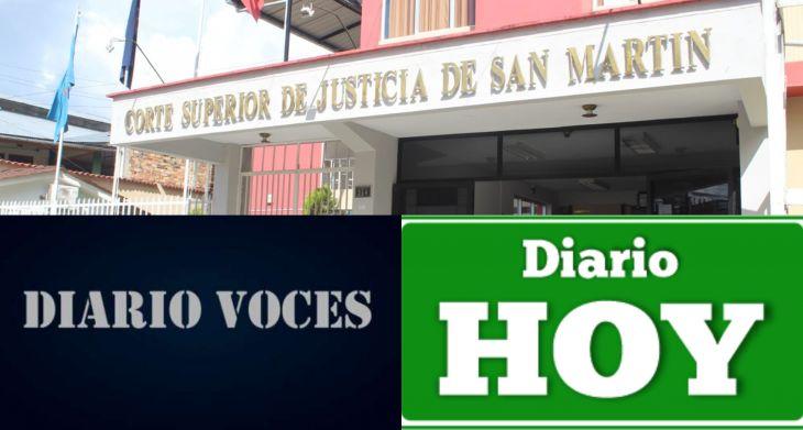 Corte Superior de Justicia de San Martín, por fin se pronuncia sobre designación de Diario Judicial