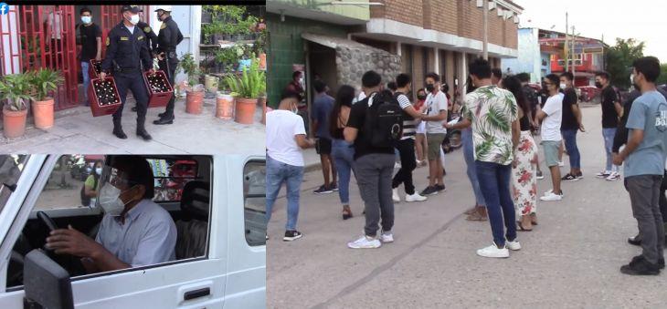 Juanjuí: 32 Covidiotas en su mayoría menores de edad fueron intervenidos en fiesta COVID
