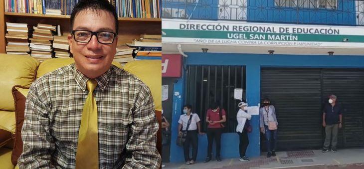 Alfonso Isuiza Pérez, continuará como director de la UGEL San Martín