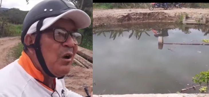 Moradores de Santa Rosillo piden al alcalde de Picota concluya pontón que ejecuta con fondos de reparación colectiva