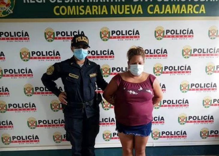 Policía de Nueva Cajamarca interviene a mujer con 4 mil soles de billetes falsos