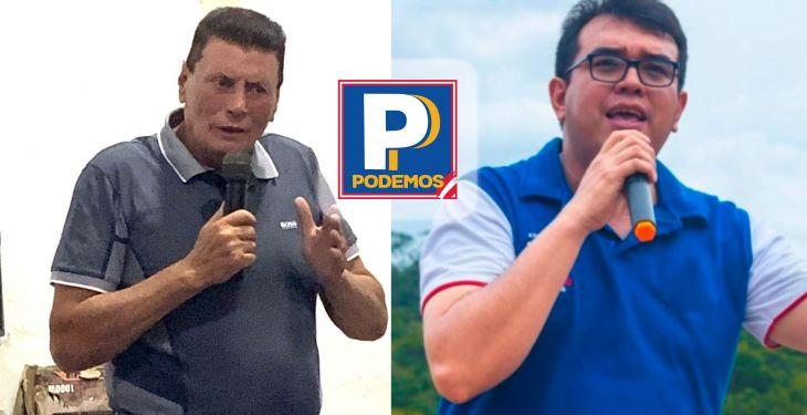 Líder histórico de APP en San Martín, Walter Grundel Jiménez junto a Jorge Corso, anunciaron su alejamiento del partido de César Acuña