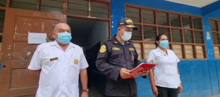 Más de 3 mil policías fueron vacunados con segunda dosis contra la covid19 en la jurisdicción de la región San Martín