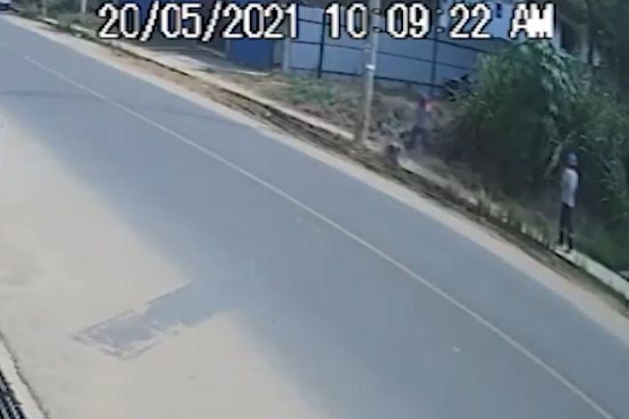 Tarapoto: Muere trabajador luego de caer de poste de alumbrado público cuando instalaba fibra óptica