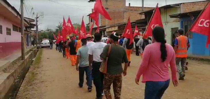 Población de Chazuta se organiza para exigir mantenimiento de la carretera Shapaja – Chazuta, y mejoramiento de establecimiento de salud