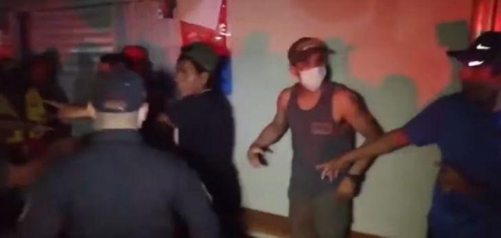 A pesar de ser una provincia de nivel extremo de contagio muchas personas acuden a bares y discotecas en Bellavista