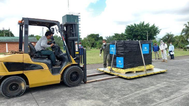 Hasta el 15 de junio están operativas las plantas de oxígeno y se ampliarán a 16 las camas UCI en el hospital de EsSalud Tarapoto