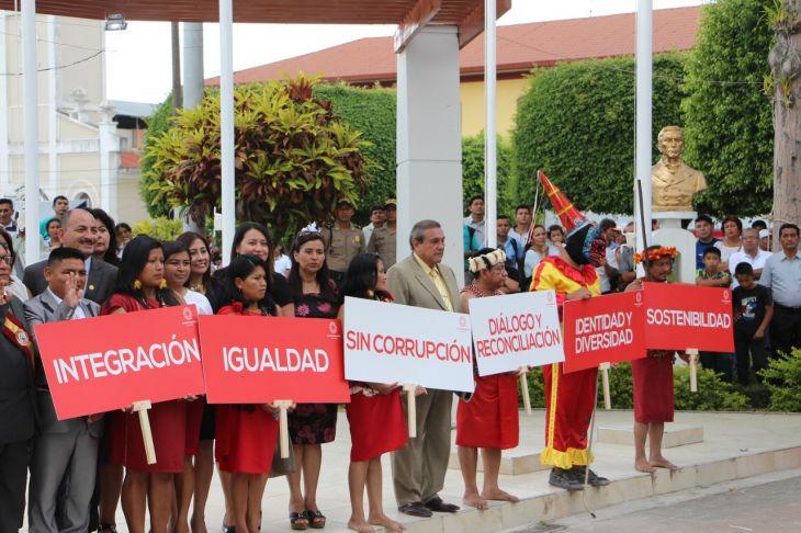 Moyobamba y capitales de provincias de la región, realizarán actividades de conmemoración del bicentenario de la independencia