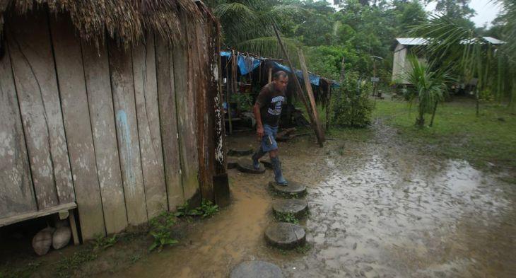 Selva peruana soportará nuevamente lluvias moderadas esta semana