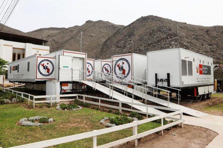 El próximo lunes EsSalud Tarapoto presentará ante la Presidencia Ejecutiva de dicha institución el documento firmado de cesión en uso para construcción de hospital móvil para los asegurados