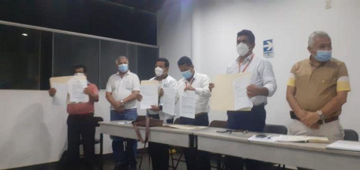 Frente de Defensa y Asentamientos Humanos de Yurimaguas, acordaron dar una tregua a Electro Oriente para el reinicio del proyecto de Línea de Transmisión de 60 Kv