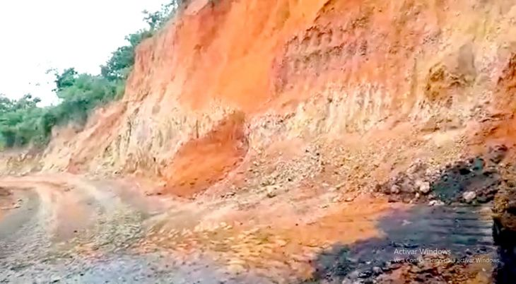 Por no contar con permiso para extraer mineral no metálico, intervienen ladrillera en Bello Horizonte