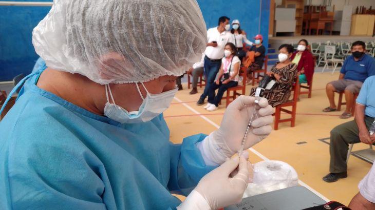 San Martín: La próxima semana se iniciará la vacunación en 16 distritos rurales