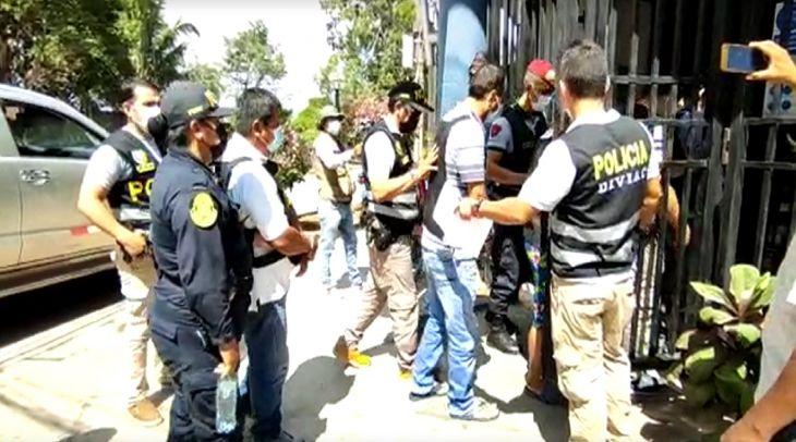 Presunta banda criminal integrada por dirigentes de construcción civil, dos policías en actividad y uno en retiro, fue desarticulada en San Martín