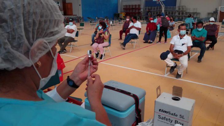 San Martín: Este jueves 1, viernes 2 y sábado 3 de julio continua la vacunación contra la Covid 19 a personas mayores de 60 años