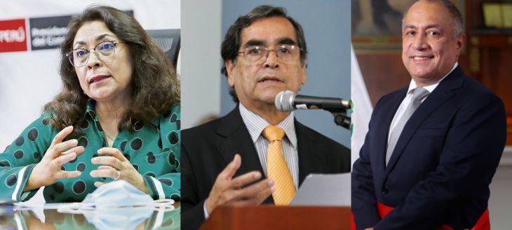 Hoy arribará a San Martín la Premier Violeta Bermúdez, y los ministros de Salud Oscar Ugarte y de Trabajo Javier Palacios