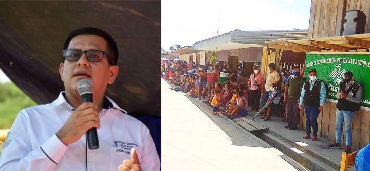 Jhon Sander sobre movilización de pobladores de Chipurana: Es un maltrato innecesario a las autoridades, dado que el proyecto de agua para la comunidad si está priorizado.
