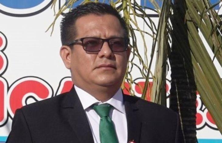 Gerente Territorial del Bajo Mayo del Gobierno Regional Jhon Sander Alegría, señala que la movilización del próximo lunes es promovida por un pequeño grupo de personas