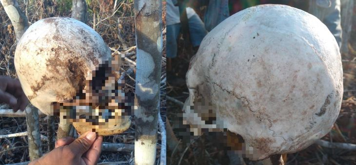 Encuentran restos óseos humanos en una finca de Lamas, los restos siguen esparcidos en el lugar y ante la indiferencia de las autoridades competentes