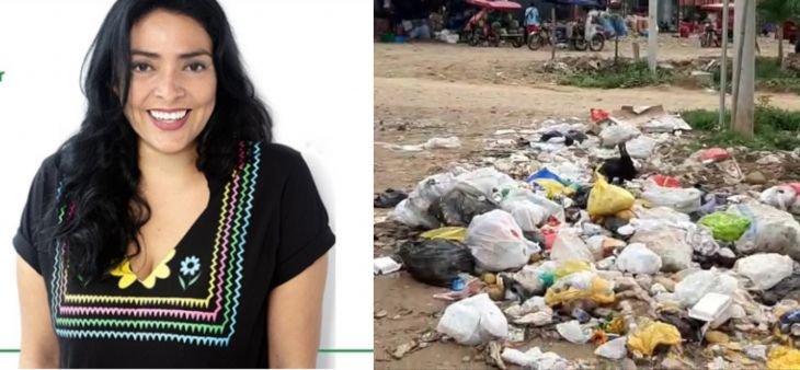 Cámara de comercio promueve campaña ciudadana para eliminar la basura en las calles de la ciudad