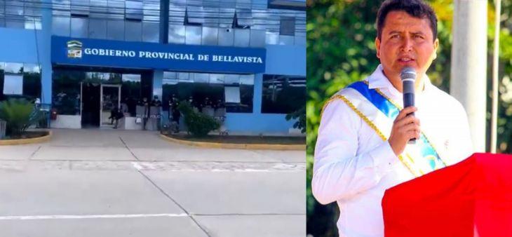 Secretario general de la municipalidad de Bellavista convoca a sesión extraordinaria para el 26 de julio para tratar sobre proceso de revocatoria del alcalde Eduar Guevara Gallardo