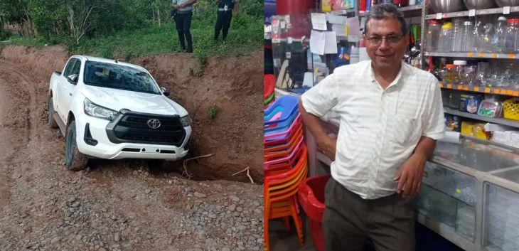 Divincri baraja varias hipótesis respecto al asesinato del Ingeniero Jaime Ramírez Navarro, quien  murió de un disparo en la cabeza durante un asalto ayer en la carretera a Mamonaquihua