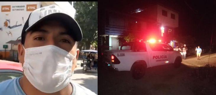 Regidor Jhony Vásquez: Amenazas comenzaron cuando vote a favor de la vacancia del alcalde Eduar Guevara