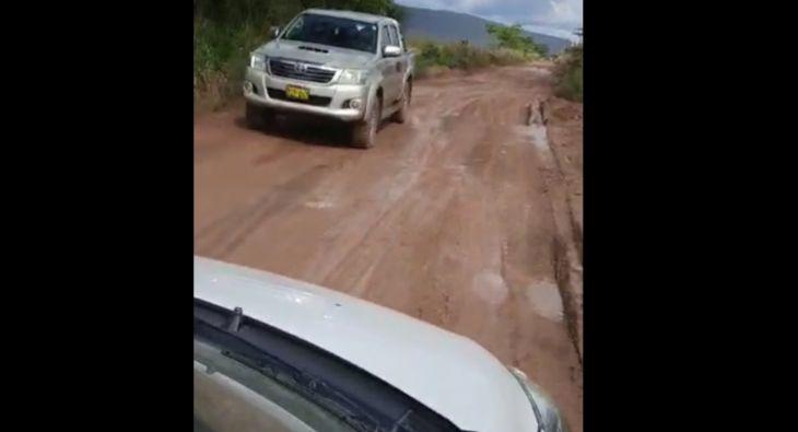 Carretera de Tingo a Ponaza a Picota cada vez en peores condiciones