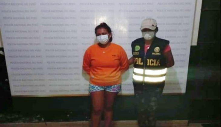 Policía capturó a Claudia Rosario Vásquez Sinti, presunta implicada en asesinato de Julio Arnold Tipa Valles de 23 años
